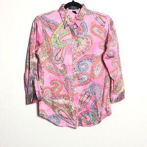Lauren Ralph Lauren paisley blouse